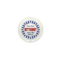 Mitt Romney for President Mini Button