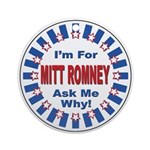 Mitt Romney for President Ornament (Round)
