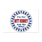 Mitt Romney for President Mini Poster Print
