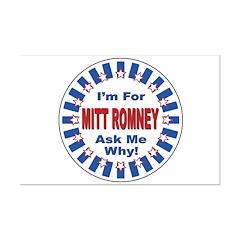 Mitt Romney for President Posters