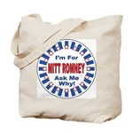Mitt Romney for President Tote Bag