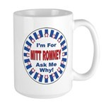 Mitt Romney for President Large Mug