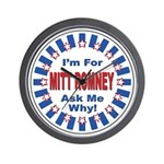 Mitt Romney for President Wall Clock