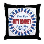 Mitt Romney for President Throw Pillow