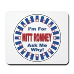 Mitt Romney for President Mousepad