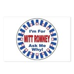 Mitt Romney for President Postcards (Package of 8)