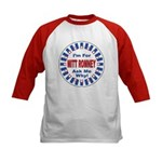 Mitt Romney for President (Front) Kids Baseball Je