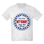 Mitt Romney for President Kids Light T-Shirt