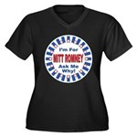 Mitt Romney for President (Front) Women's Plus Siz
