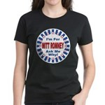 Mitt Romney for President (Front) Women's Dark T-S
