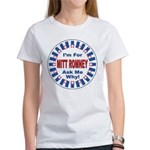 Mitt Romney for President (Front) Women's T-Shirt
