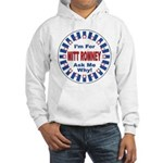 Mitt Romney for President (Front) Hooded Sweatshir
