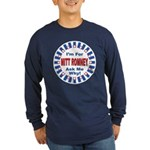 Mitt Romney for President (Front) Long Sleeve Dark