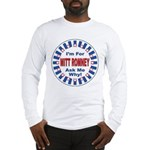 Mitt Romney for President (Front) Long Sleeve T-Sh