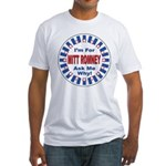 Mitt Romney for President Fitted T-Shirt