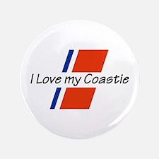 """LOVE MY COASTIE 3.5"""" Button"""