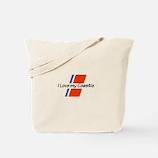 LOVE MY COASTIE Tote Bag