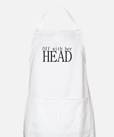 Off WIth Her Head BBQ Apron