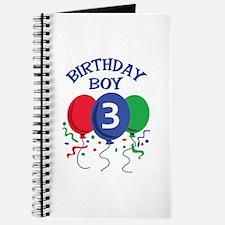 BIRTHDAY BOY THREE Journal