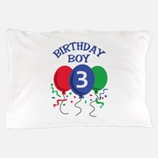 BIRTHDAY BOY THREE Pillow Case