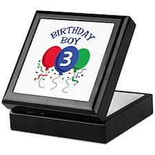 BIRTHDAY BOY THREE Keepsake Box