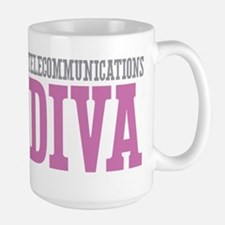 Telecommunications DIVA Mugs
