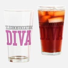Telecommunications DIVA Drinking Glass