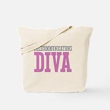 Telecommunications DIVA Tote Bag