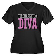 Telemarketing DIVA Plus Size T-Shirt