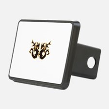 DOUBLE DRAGONS APPLIQUES Hitch Cover