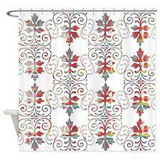 Rare Damask Shower Curtain