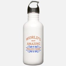 Police Chief Water Bottle
