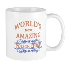 Police Chief Mugs