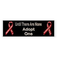 Adopt One! Bumper Sticker