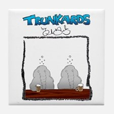 Trunkards Tile Coaster