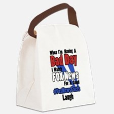 #FoxNewsFacts (Light) Canvas Lunch Bag