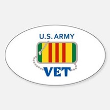 U S ARMY VET Decal