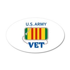 U S ARMY VET Wall Decal