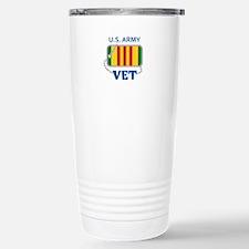 U S ARMY VET Travel Mug