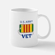 U S ARMY VET Mugs