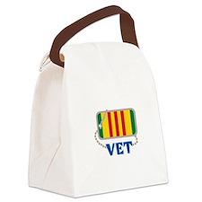 VIETNAM VET Canvas Lunch Bag