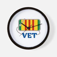VIETNAM VET Wall Clock