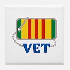 VIETNAM VET Tile Coaster