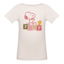 Snoopy Play - Pink T-Shirt