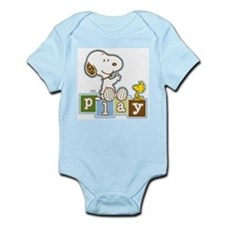 Snoopy Play - Blue Body Suit