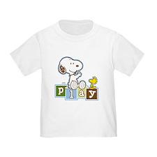 Snoopy Play - Blue T-Shirt