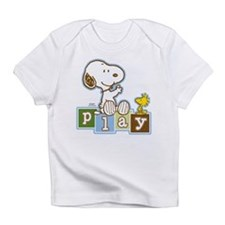 Snoopy Play - Blue Infant T-Shirt