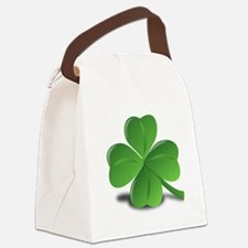 Shamrock Canvas Lunch Bag