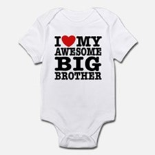 I Love My Awesome Big Brother Infant Bodysuit