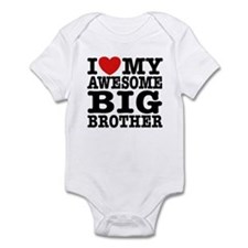 I Love My Awesome Big Brother Onesie